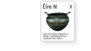 Castlederg Bronze Cauldron - 100 Objects